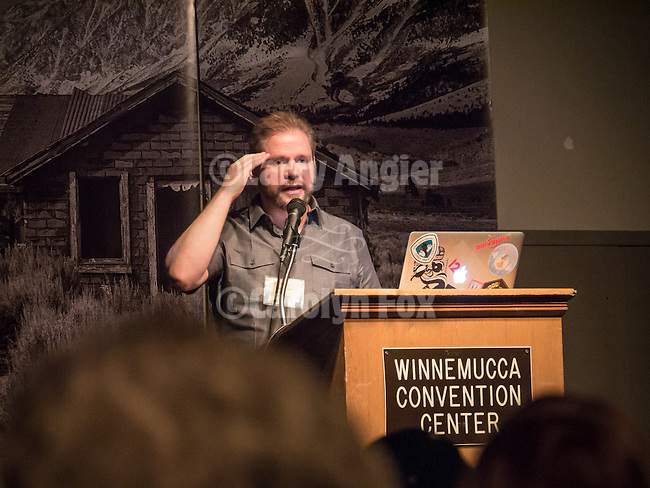 Ben WIllmore, Photoshop instructor and keynote speaker presents Think Like a Photographer at Shooting the West XXVII, Winnemucca, Nev.