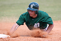Dartmouth Big Green outfielder David Turnbull #30 during a game vs. the Long Island Blackbirds at Chain of Lakes Park in Winter Haven, Florida;  March 20, 2011.  Dartmouth defeated Long Island 6-0.  Photo By Mike Janes/Four Seam Images