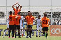 Porto Feliz (SP), 11/01/2020 - Desportivo Brasil-Capivariano - João Duarte comemora gol do Desportivo Brasil. Partida entre Desportivo Brasil e Capivariano pela Copa São Paulo de Futebol Junior no estádio Ernesto Rocco em Porto Feliz neste sábado (11).