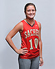 Cara Trombetta of Sachem East High School poses for a portrait during the Newsday 2015 varsity field hockey season preview photo shoot at company headquarters on Monday, September 14, 2015