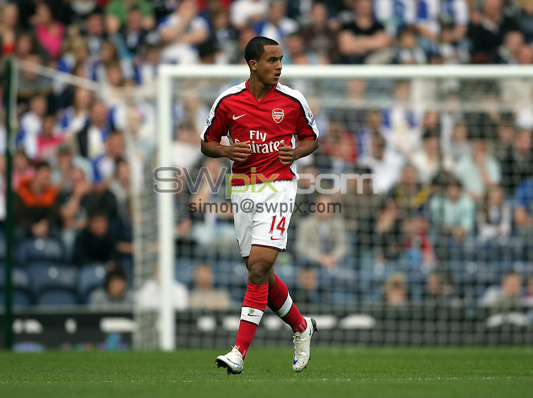 PICTURE BY VAUGHN RIDLEY/SWPIX.COM - Football - Barclays Premiership - Blackburn v Arsenal - Ewood Park, Blackburn, England - 13/09/08...Copyright - Simon Wilkinson - 07811267706...Arsenal's Theo Walcott.