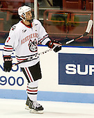 Anthony Bitetto (Northeastern - 7) - The visiting Rensselaer Polytechnic Institute Engineers tied their host, the Northeastern University Huskies, 2-2 (OT) on Friday, October 15, 2010, at Matthews Arena in Boston, MA.