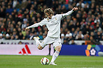 Real Madrid´s Luka Modric during La Liga match at Santiago Bernabeu stadium in Madrid, Spain. March 15, 2015. (ALTERPHOTOS/Victor Blanco)