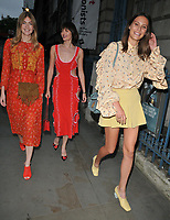 Eve Delf, Sam Rollinson and Charlotte Wiggins at the ELLE List inaugural annual event to celebrate the next generation of global trailblazers inspiring the ELLE woman in 2018, Somerset House, Lancaster Place, The Strand, London, England, UK, on Monday 04 June 2018.<br /> CAP/CAN<br /> &copy;CAN/Capital Pictures