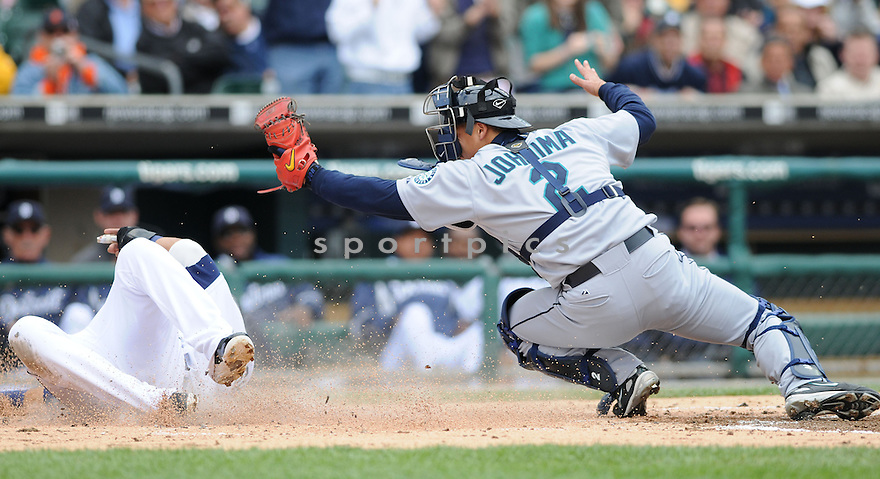 KENJI JOHIJIMA, of the Seattle Mariners, in action against the Detroit TIgers during the Mariners game in Chicago, IL on May 22, 2008. The Tigers  won the game 9-2.