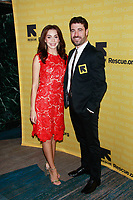 NEW YORK, NY - NOVEMBER 1: Arianna Rosario  And Omar Lopez-Cepero  at IRC Hosts The 2018 Rescue Dinner at New York Hilton Midtown on November 1, 2018 in New York City.        <br /> CAP/MPI99 <br /> &copy;MPI99/Capital Pictures
