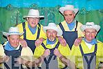 Actors: Jim OSullivan, Diarmuid McCarthy, Denis OShea, Pat Cronin and Dermot OKeeffe at The Wizard of Oz pantomime in Rathmore Community Centre last Sunday.