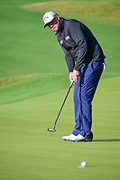 Marc Leishman (AUS) watches his putt run in the cup on 5  during round 4 of the World Golf Championships, Dell Technologies Match Play, Austin Country Club, Austin, Texas, USA. 3/25/2017.<br /> Picture: Golffile | Ken Murray<br /> <br /> <br /> All photo usage must carry mandatory copyright credit (&copy; Golffile | Ken Murray)