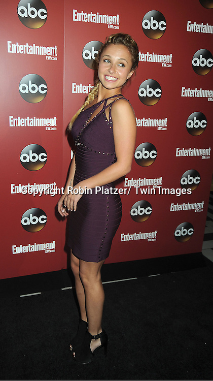 "Hayden Panettiere of ""Nashville"" at the Entertainment Weekly and ABC-TV Upfront Party at The General on May 14, 2013 in New York City."