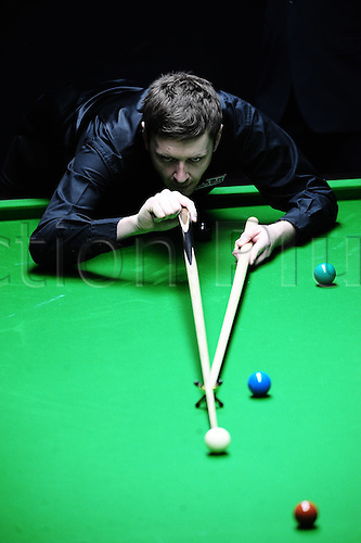 Mar 30, 2011; Beijing, CHINA; Ricky Walden defeats Martin Gould 5:4 in the first round at the Bank of Beijing 2011 World Snooker China Open.