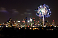 Austin July 4th Fireworks display