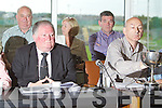 The top table pictured at the Kerry County Board meeting on Monday night were Jerome Conway, Chairman, Peter Twiss,.