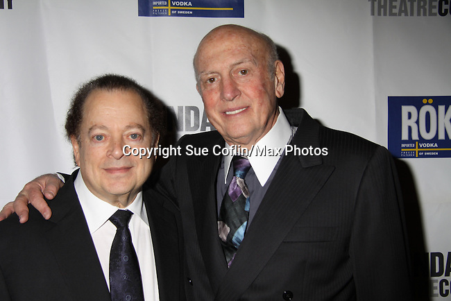Music by Mike Stoller & Artie Butler at Opening Night of Roundabout Theatre Company's Broadway production of The People in the Picture on April 28, 2011 at Studio 54 Theatre, New York City, New York. (Photo by Sue Coflin/Max Photos)