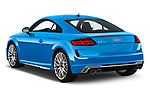 Car pictures of rear three quarter view of a 2019 Audi TTS-Coupe Base 3 Door Coupe angular rear