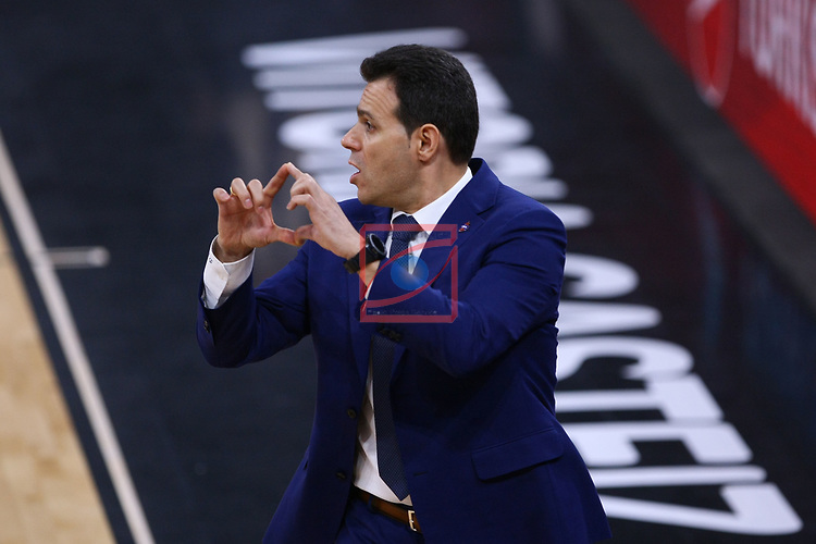 Turkish Airlines Euroleague.<br /> Final Four - Vitoria-Gasteiz 2019.<br /> Semifinals.<br /> CSKA Moscow vs Real Madrid: 95-90.<br /> Dimitrios Itoudis.