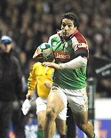 Reading, GREAT BRITAIN, Juan LEGUIZAMON, during the third round Heineken Cup game, London Irish vs Ulster Rugby, at the Madejski Stadium, Reading ENGLAND, Sa, t 09.12.2006. [Photo Peter Spurrier/Intersport Images]..