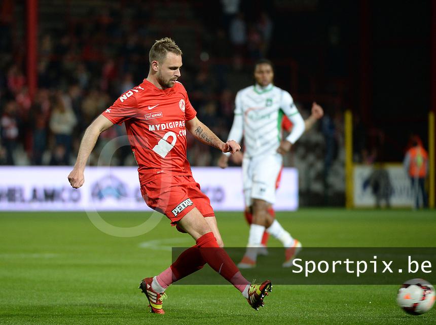 KV Kortrijk : Baptiste Martin <br /> foto VDB / BART VANDENBROUCKE
