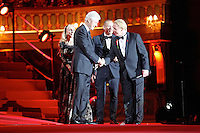 "Former US President Bill Clinton, Franca Sozzani, Nicholas Ofczhrik and Ben Becker attending the ""20th Life Ball"" AIDS Charity Gala 2012 held at the Vienna City Hall. Vienna, Austria, 19th May 2012...Credit: Wendt/face to face /MediaPunch Inc. ***FOR USA ONLY**"