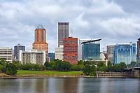 View of downtown Portland, Oregon