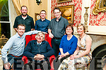 Duagh Borna nOg Dinner : Attending the Duagh Bord na nOg dinner at the Listowel Arms Hotel on Saturday night last were in front  Fergal Sheridan, Ted Halpin, Susn Galvin & Norma Sheridan. Back : Brendan O'Brien, Thomas Dillon & Matt Galvin.