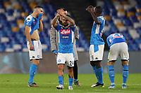 Lorenzo Insigne of Napoli and Kalidou Koulibaly  dejection<br /> Napoli 01-12-2019 Stadio San Paolo <br /> Football Serie A 2019/2020 <br /> SSC Napoli - Bologna FC<br /> Photo Cesare Purini / Insidefoto
