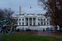 The White House Fence Construction
