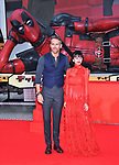 """Ryan Reynolds, May 29, 2018, Tokyo, Japan : Actor Ryan Reynolds(L) and actress Shioli Kutsuna attend the Japan premiere for """"Deadpool 2"""" at the Roppongi Hills in Tokyo, Japan on May 29, 2018."""