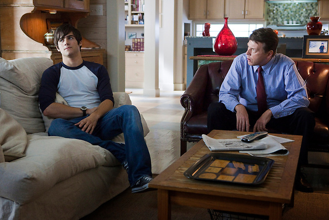 Max Ehrich and Douglas M. Griffin in the Lifetime Television Original Movie 'The Pregnancy Pact,' loosely based on the 2008 Gloucester High School case.