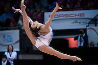 September 11, 2015 - Stuttgart, Germany -  VIKTORIA MAZUR  of Ukraine performs during AA final at 2015 World Championships.