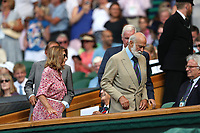 LONDON, ENGLAND - JULY 06: Guest attend day five of the Wimbledon Tennis Championships at the The All England Lawn Tennis Club on July 6, 2018 in London, England<br /> CAP/MPI122<br /> &copy;MPI122/Capital Pictures