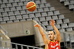 Spain's Sergio Rodriguez during training session.July 23,2012(ALTERPHOTOS/Acero)