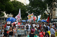 RIO DE JANEIRO, RJ, 13.08.2019 - PROTESTO-RJ - Manifestantes participam de Protesto pela Educação no centro do Rio de Janeiro nesta terça-feira, 13. (Foto: Clever Felix/Brazil Photo Press)