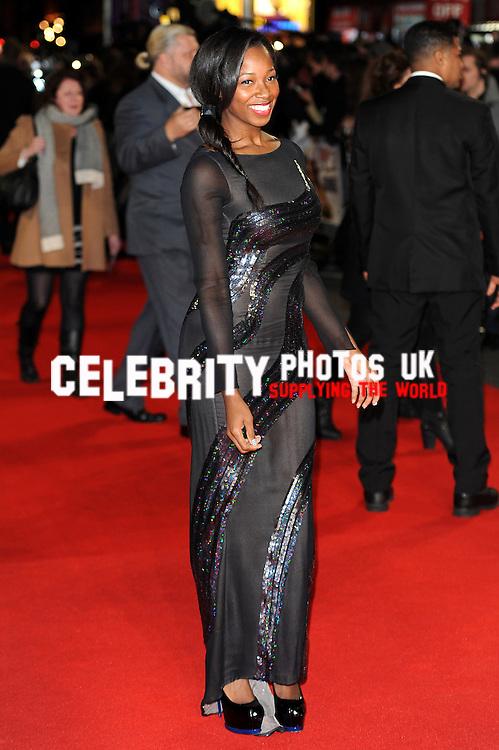 Jamelia Niela Davis   at the  world film premiere of Gambit  held at The Empire, Leicester Square  London, 07.11.12Picture By: Olga Bermejo Lobanoff  (Brian Jordan )/ Retna Pictures. .-.