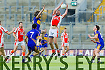 Brosna in action against  John Mitchels inthe Junior Football All Ireland Club Final in Croke Park on Saturday.
