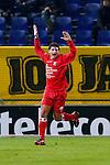 Nederland, Breda, 31 oktober 2012.KNVB Beker.Seizoen 2012-2013.NAC Breda-HBS.Sami Aoulad Said van HBS juicht nadat hij de 0-1 heeft gescoord.