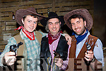 Six shooters Jason Hannafin, Igneatious Duggan and Odran Dowen who performed in Killarney musical society production of Calamity Jane in the INEC on Friday night