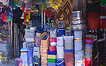 Display of shop hardware items, Fethiye, Turkey