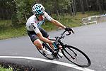 David De La Cruz (ESP) Team Sky descends during Stage 20 of the La Vuelta 2018, running 97.3km from Andorra Escaldes-Engordany to Coll de la Gallina, Spain. 15th September 2018.                   <br /> Picture: Unipublic/Photogomezsport | Cyclefile<br /> <br /> <br /> All photos usage must carry mandatory copyright credit (&copy; Cyclefile | Unipublic/Photogomezsport)