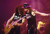 Guns N' Roses - Performing live at the Tower Theater in Philadelphia, PA USA - May 10 1988. Photo credit: Eddie Malluk Atlasicons.com
