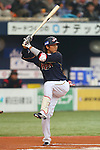 Hayato Sakamoto (JPN), .February 26, 2013 - WBC : .2013 World Baseball Classic, Exhibithion Game .match between Japan 0-1 Hanshin Tigers  .at Kyocera Dome, Osaka, Japan..(Photo by AJPS/AFLO SPORT)