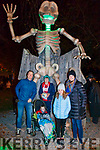 The Ryan Family - Halloween Howl in Kenmare <br /> L-R: Don, Therese, Odhran, Naoise and Bobby Ryan
