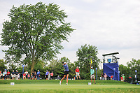 Gerina Piller (USA) watches her tee shot on 2 during Friday's round 2 of the 2017 KPMG Women's PGA Championship, at Olympia Fields Country Club, Olympia Fields, Illinois. 6/30/2017.<br /> Picture: Golffile | Ken Murray<br /> <br /> <br /> All photo usage must carry mandatory copyright credit (&copy; Golffile | Ken Murray)
