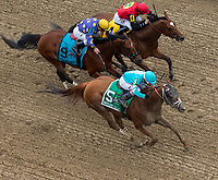 BALTIMORE, MD - MAY 20: Whitmore #5, ridden by Ricardo Santana Jr., wins the Maryland Sprint Stakes on Preakness Stakes Day at Pimlico Race Course on May 20, 2017 in Baltimore, Maryland.(Photo by Dan Heary/Eclipse Sportswire/Getty Images)