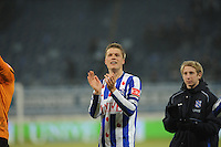 VOETBAL: SC HEERENVEEN: Abe Lenstra Stadion, 17-02-2012, SC-Heerenveen-NAC, Eredivisie, Eindstand 1-0, Viktor Elm, ©foto: Martin de Jong.