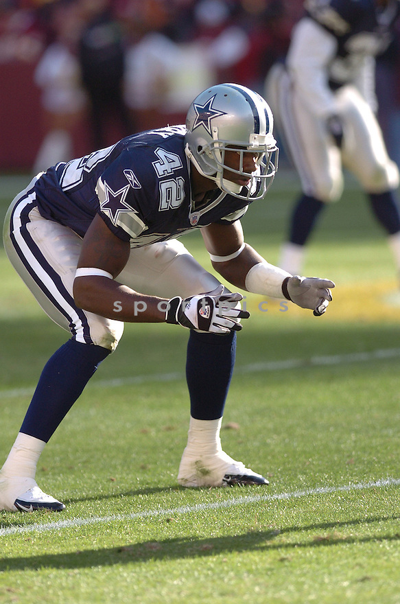 ANTHONY HENRY, of the Dallas Cowboys ,during their game against  the  Washington Redskins on Novmeber 05, 2006 in Washington D.C....Redskins win 22-19..Tomasso DeRosa / SportPics