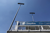 Floodlights over the ground ahead of Essex CCC vs Somerset CCC, Specsavers County Championship Division 1 Cricket at The Cloudfm County Ground on 25th June 2018