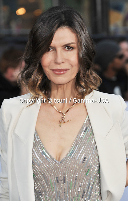 Finola Hughes arriving at the 7609_ Oblivion Premiere at the Chinese Theatre in Los Angeles.