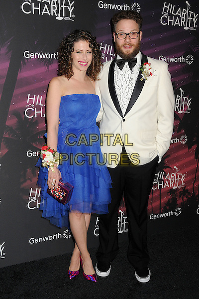 17 October 2014 - Hollywood, California - Lauren Miller Rogen, Seth Rogen. 3rd Annual Hilarity For Charity Los Angeles Variety Show held at the Hollywood Palladium.  <br /> CAP/ADM/BP<br /> &copy;Byron Purvis/AdMedia/Capital Pictures