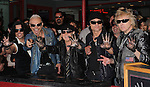 Scorpions Inducted into RockWalk Hall of Fame 4-6-10