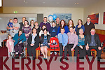 BABY JOY: Proud parents Elizabeth and Kevin McCarthy (seated centre), Keel, Castlemaine of little Paul who was Christening by Fr Luke Roche at St Gobnit's Church, Keel and celebrated afterwards with family and friends at the Manor West hotel, Tralee on Saturday.